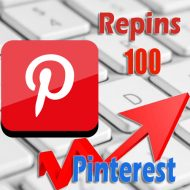 100 buy Pinterest Repins