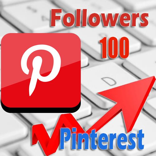 100 buy Pinterest followers