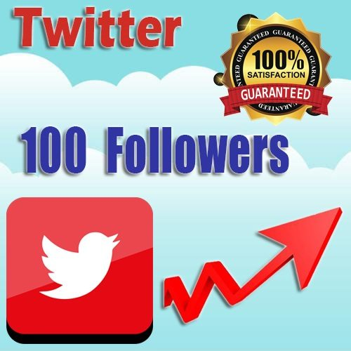 100 buy twitter followers