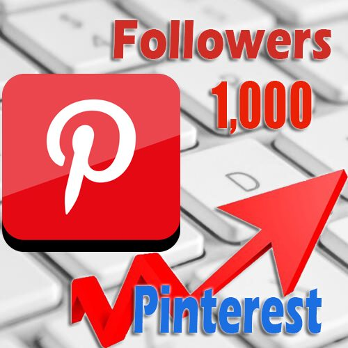 1000 buy Pinterest followers