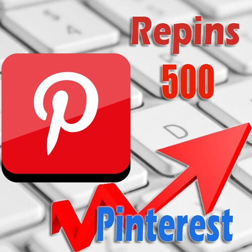 500 buy Pinterest Repins
