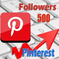 500 buy Pinterest followers