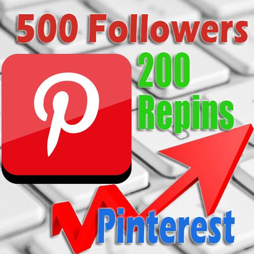 500 Pinterest followers 200 Repins