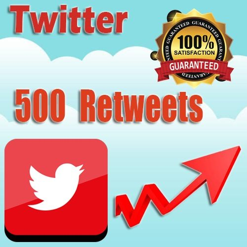 500 buy twitter retweets