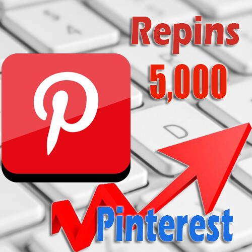 5000 buy Pinterest Repins