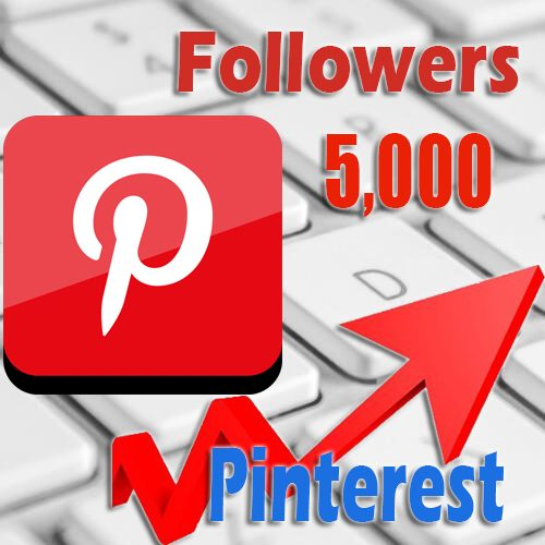 5000 buy Pinterest followers