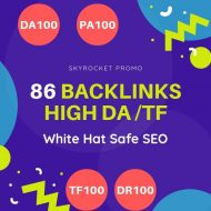 86 Backlinks high quality