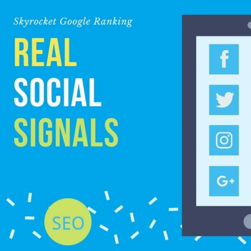 5000 Real Social Signals from Facebook Twitter Pinterest